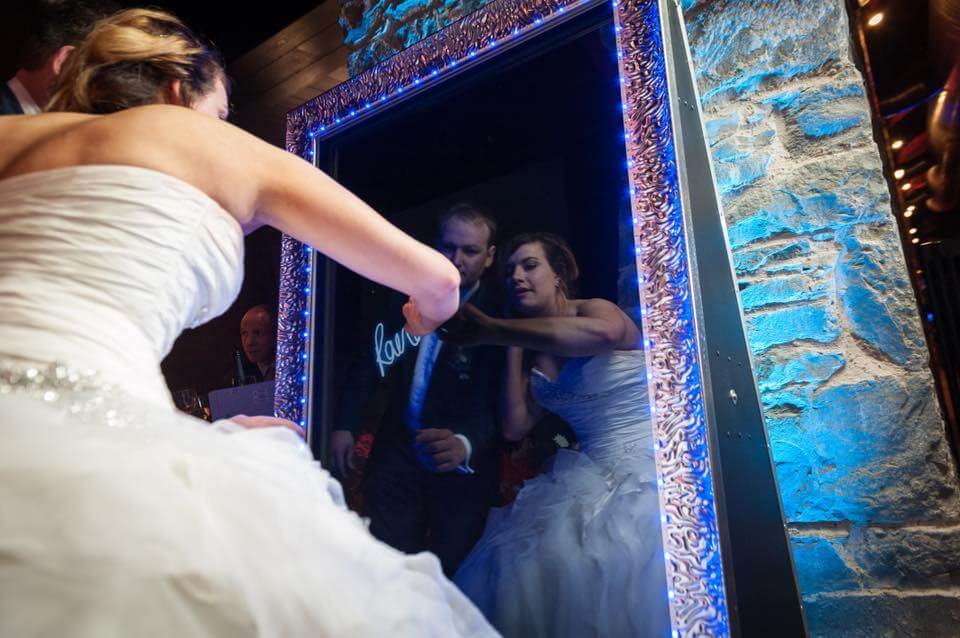 Mirror Magic Photo Booth | Wedding